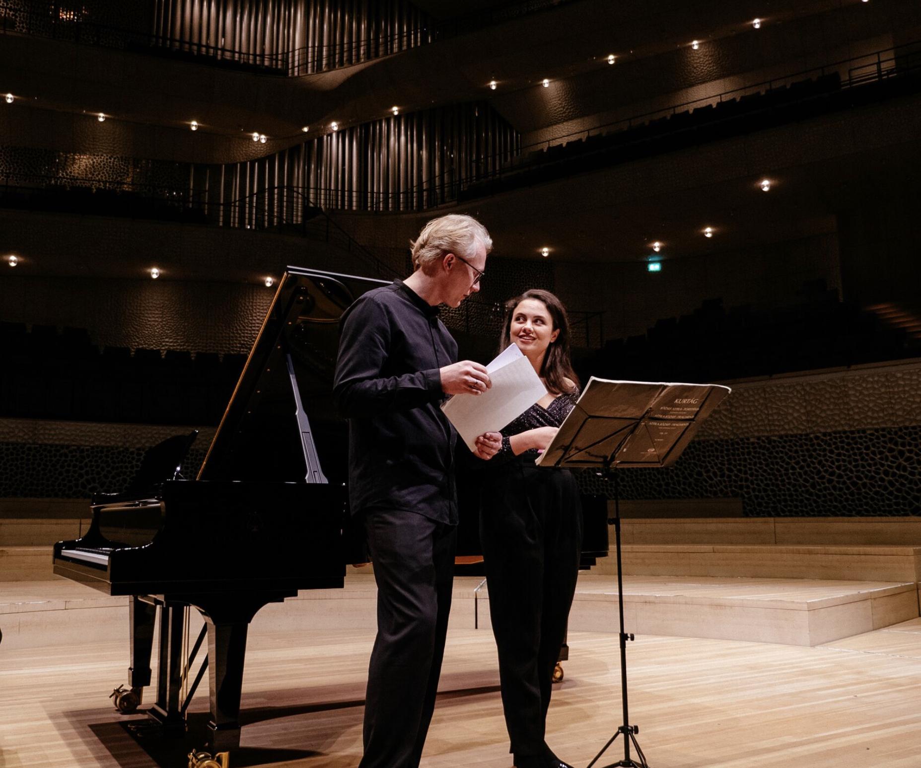 Fledermaus an der Elbphilharmonie - Katharina Konradi